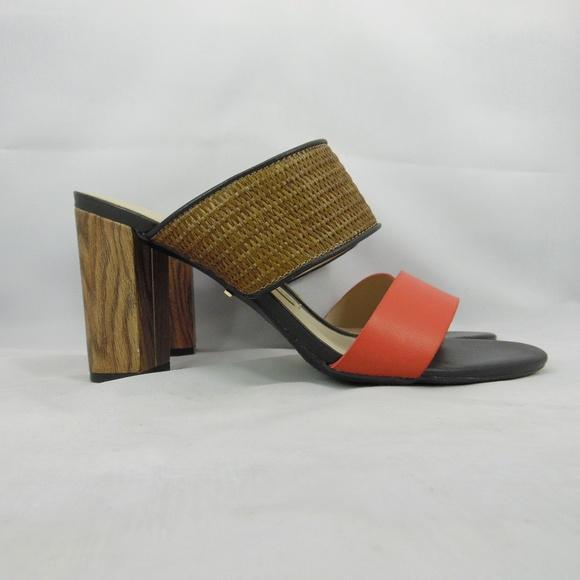 e44caac36 Dana Buchman Shoes - Dana Buchman Hi Heel Slide Sandal